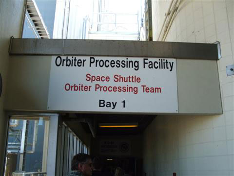 NASA Orbiter Processing Facility