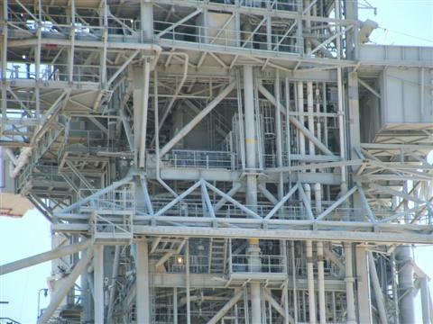 NASA Pad 39B Close-Up