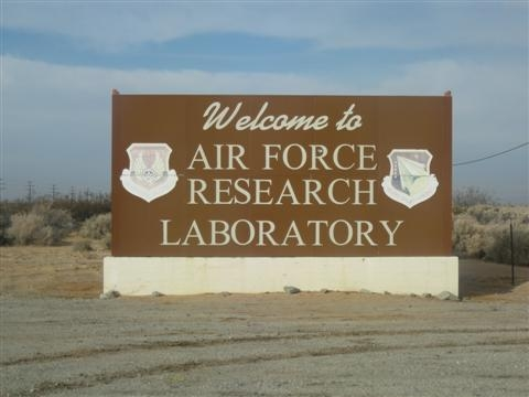 AFRL Welcome Sign