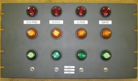 Warning Light Control - Front View